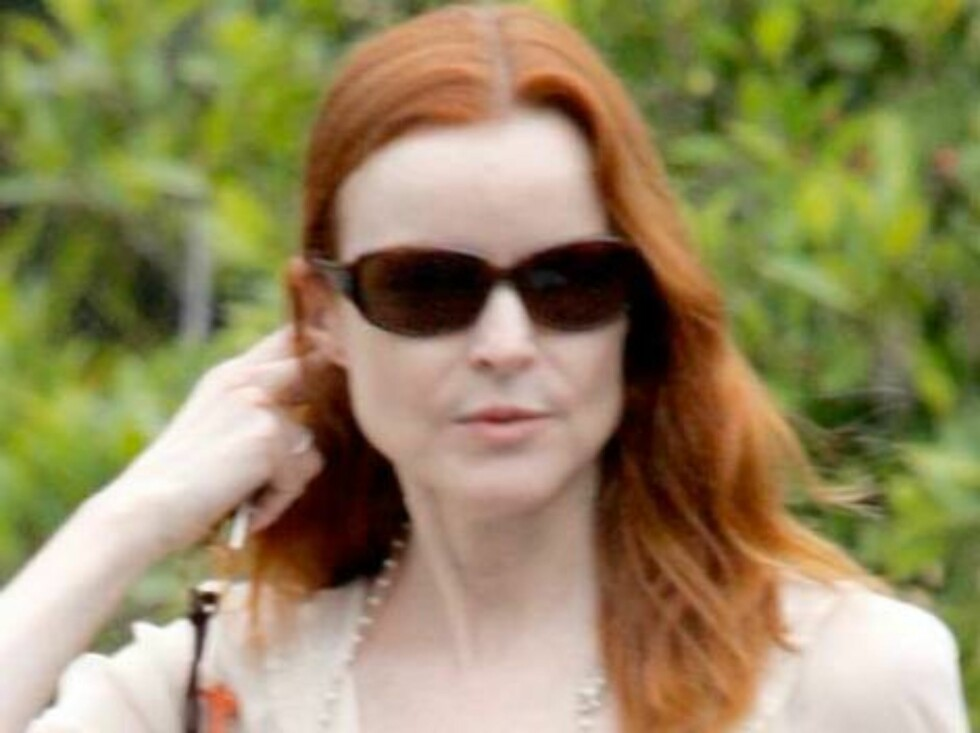 Marcia Cross with giraffe key chain shopping at Fred Segal. June 4, 2006 X17agency EXCLUSIVE / ALL OVER PRESS Foto: All Over Press