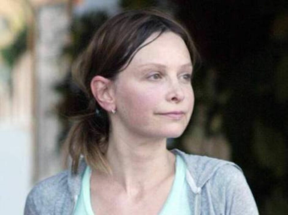 Calista Flockhart leaves her Pilates class all sweaty carrying her shoes. October 12, 2005 X17agency EXCLUSIVE / ALL OVER PRESS Foto: All Over Press
