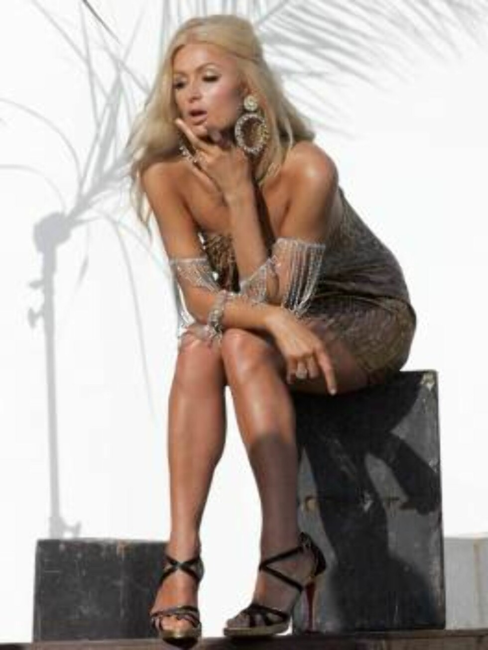 Paris Hilton in a glamour photo shoot in Malibu. June 21, 2006 X17agency exclusive Foto: All Over Press
