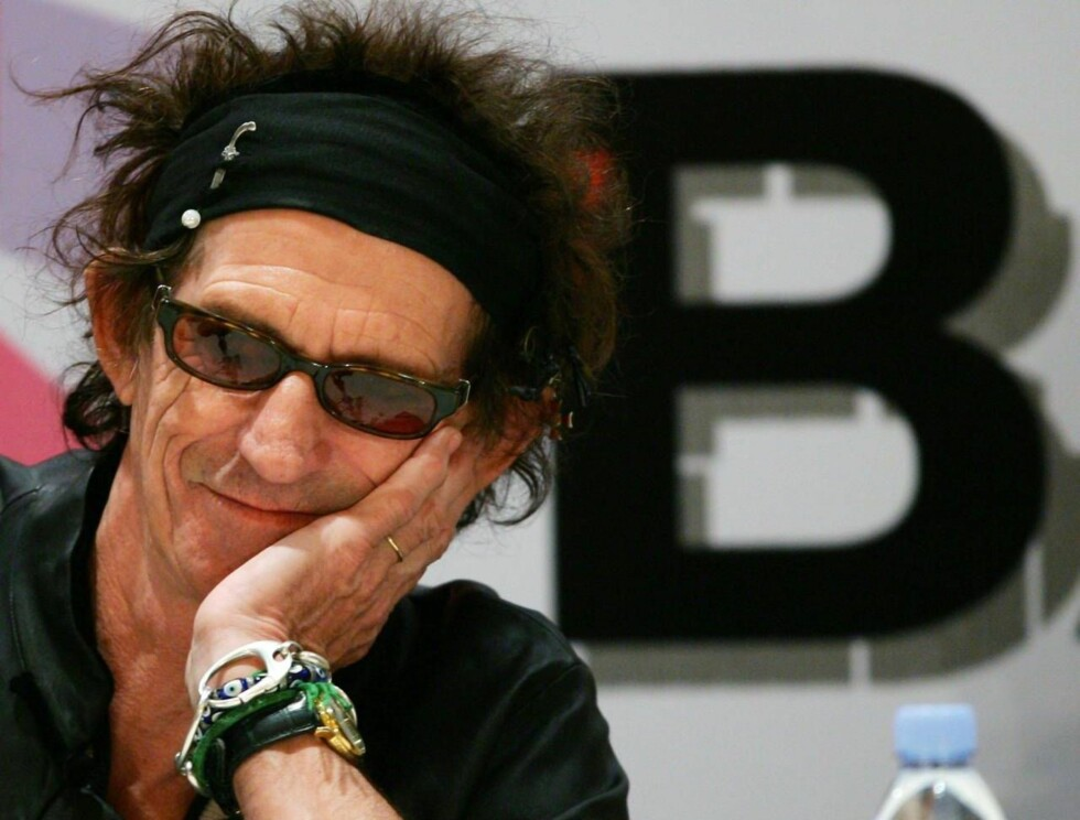 PÅ DIETT: Keith Richards må begrense alkoholinntaket. Det kan bli dramatisk. Foto: All Over Press
