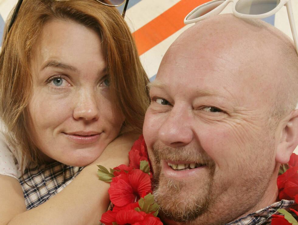 RADARPAR: Kari og Geir er på bølgelengde i sommer! Foto: Ole Kaland, NRK