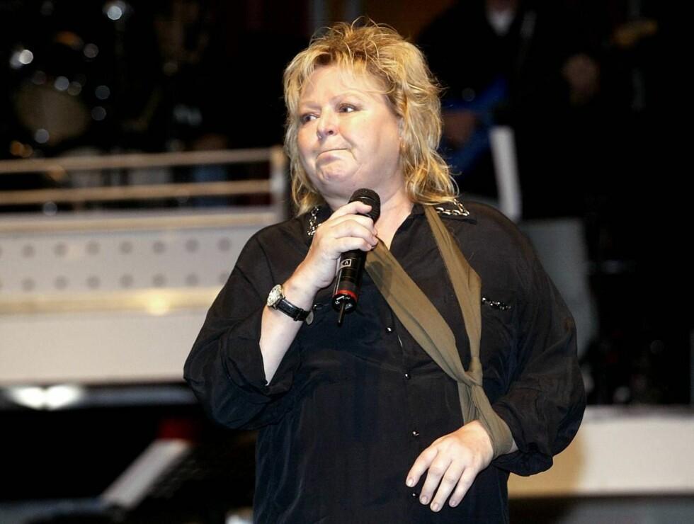 SLANKER SEG: Kikki Danielsson håper at et TV-program skal hjelpe henne å gå ned i vekt. Foto: Se og Hør