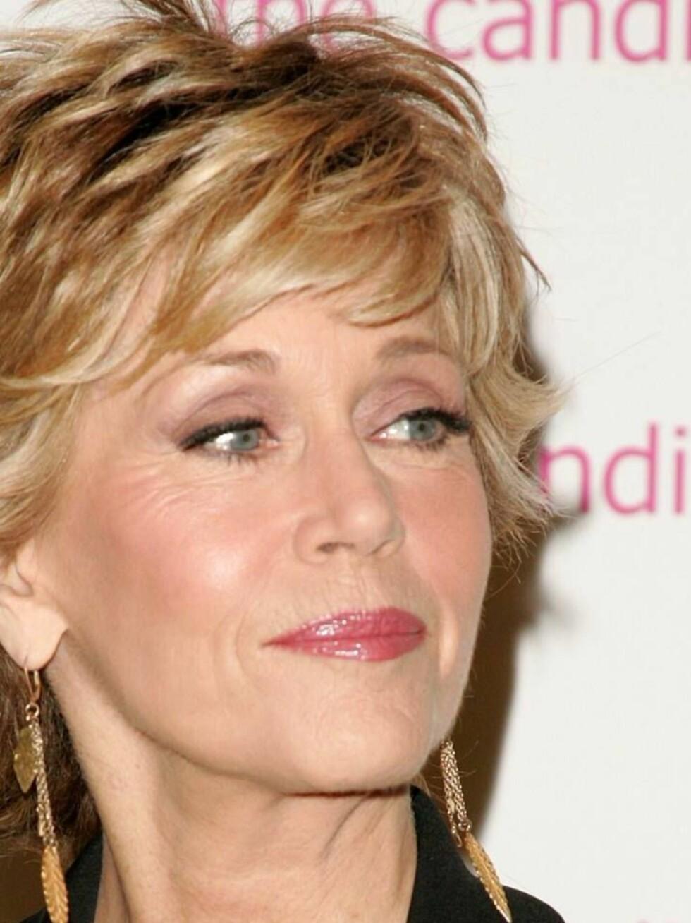 FUNNET SEG SELV: Jane Fonda. Foto: All Over