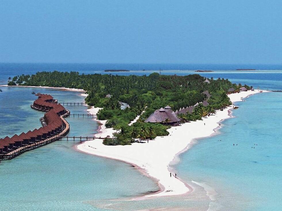 <strong>DRØMMEVERDEN:</strong> Øyparadiset Maldivene er så vakkert at det knapt er til å tro. Foto: Ving