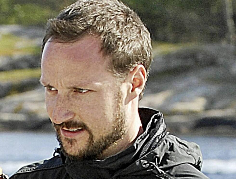 SJEKKET HYTTETOMT: Mens det var statsbesøk i Oslo dro Haakon til Flekkerøya i all hemmelighet. Foto: Anders Martinsen, Se og Hør