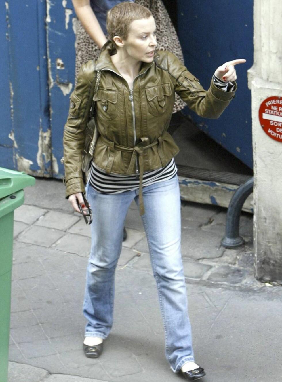 GJØR COMEBACK: Kylie er på bedringens vei og skuffer ikke fansen. Foto: All Over Press