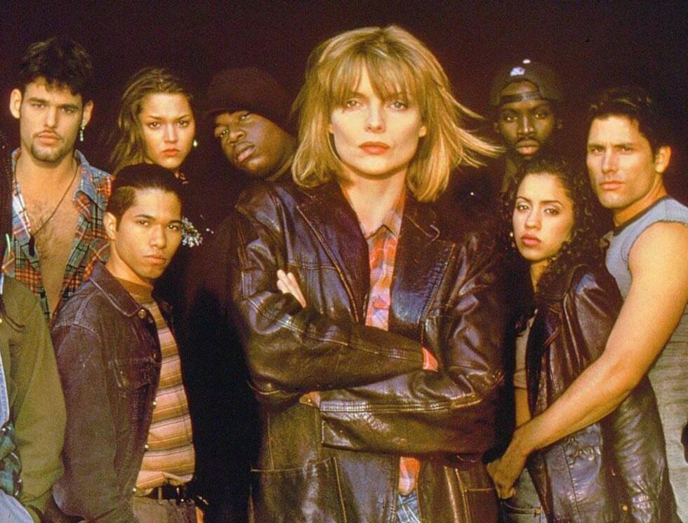 TØFF DAME: Michelle Pfeiffer i Dangerous Minds. Foto: TV3