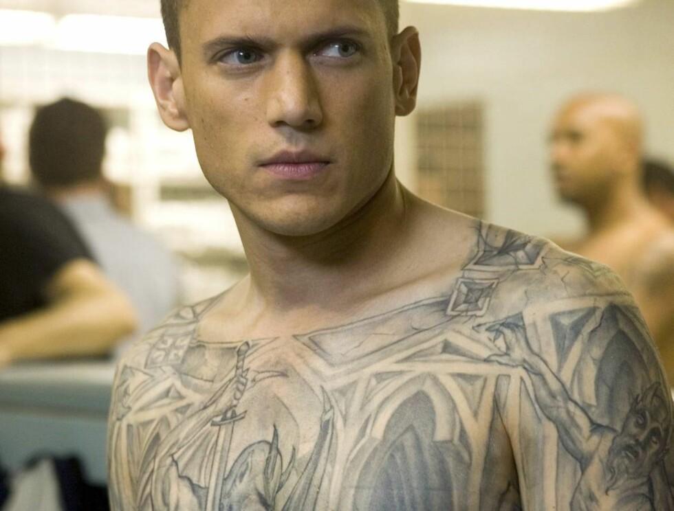 """PRISON BREAK: Michael (Wentworh Miller) in the PRISON BREAK episode """"Cell Test"""" airing Monday, Sept. 5 (9:00-10:00 PM ET/PT) on FOX.  Wentworth Miller spiller Michael, hjernen bak fengselsflukten. Foto: TV3"""