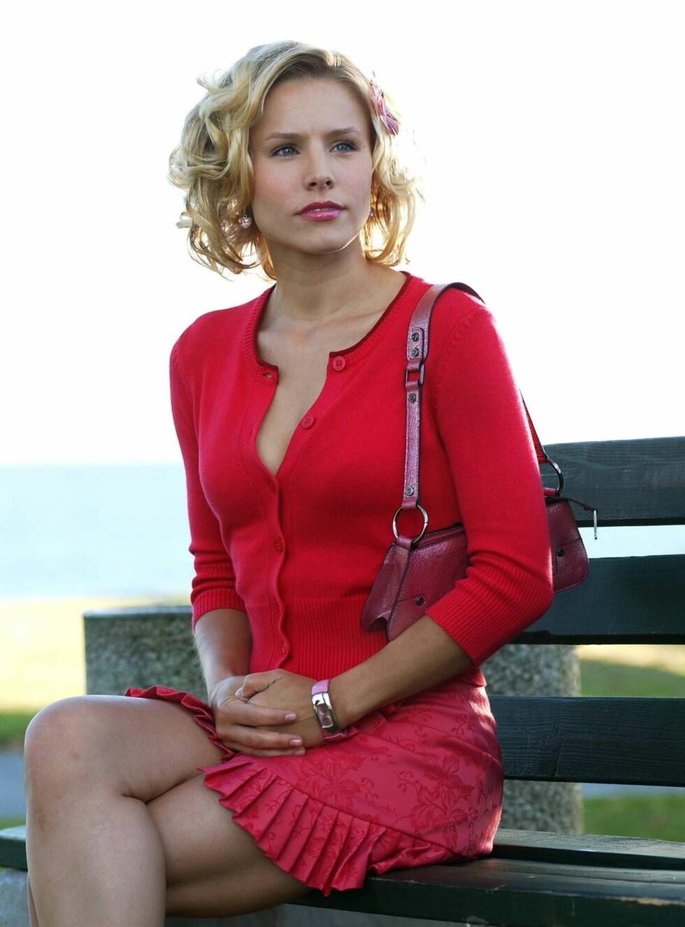 TV-STJERNE: Kristen Bell er best kjent fra TV-serien «Veronica Mars». Snart kommer TV-serien som film. Foto: TVNorge