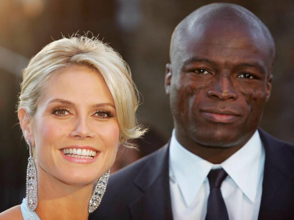 LYKKELIGE: Heidi Klum blir trebarnsmor. Hun venter barn med Seal. Foto: All Over Press