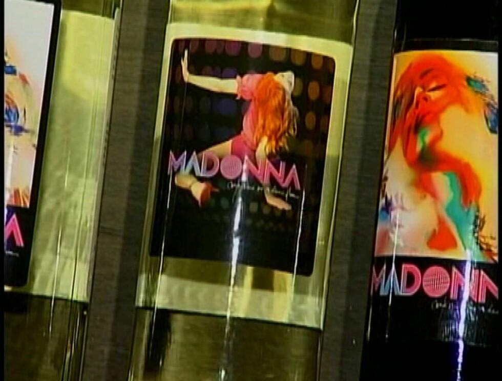 Madonna med egen vin