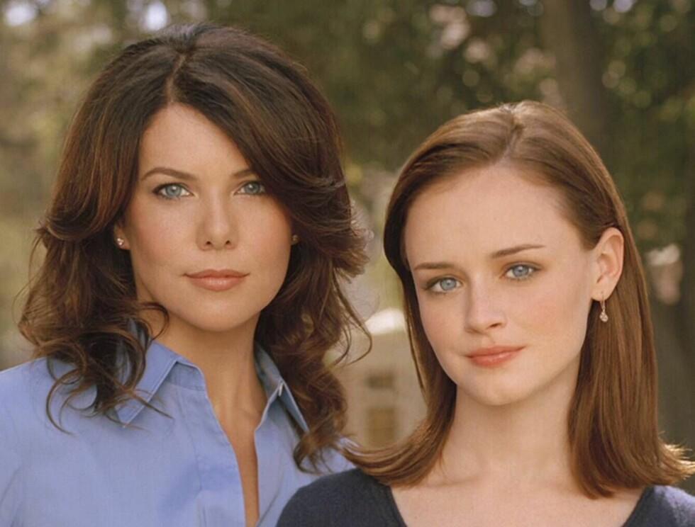 NOEN LIKER MORA... Her er Gilmore-jentene, Lorelai og Rory. Foto: TVNorge