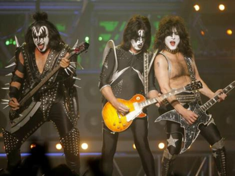 Rock group KISS performs during the VH1 Rock Honors concert in Las Vegas on Thursday, May 25, 2006.   (AP Photo/Jae C. Hong) Foto: Scanpix, AP