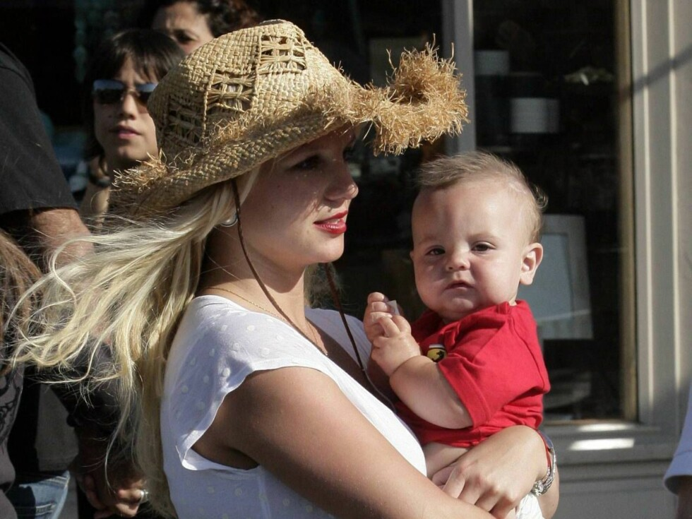 SOLID GREP: Britney vil ikke risikere nok en skandale rundt henne og Sean Preston. Foto: x17