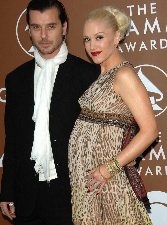 LYKKELIGE: Gavin og Gwen er nybakte foreldre, og lykken er stor! Foto: All Over Press