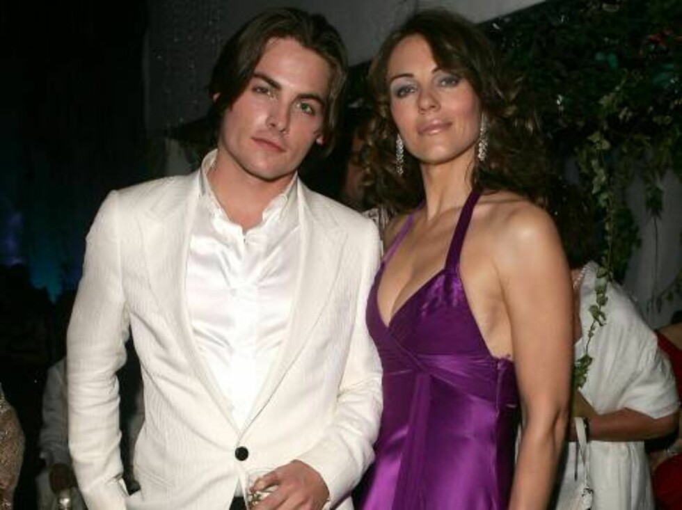 CANNES, FRANCE - MAY 20:  Canadian actor Kevin Zegers and british actress Elizabeth Hurley attend the 'Chopard Party' at the Carlton Hotel during the 59th International Cannes Film Festival May 20, 2006 in Cannes, France.  (Photo by Pascal Le Segretain/Ge Foto: All Over Press