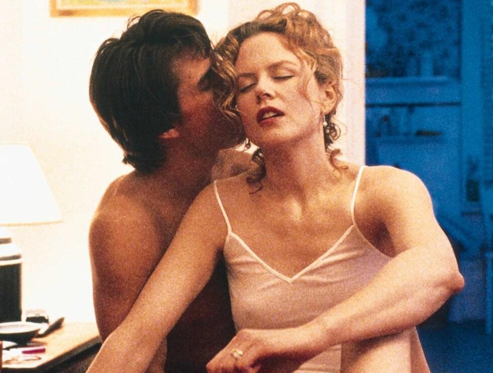 """HEFTIG NATT: Nicole Kidman viste sterke følelser med eks-mannen Tom Cruise i filmen """"Eyes Wide Shut"""". Nå gjør hun alt for å få det like heftig med country-Keith... Foto: warner brothers"""