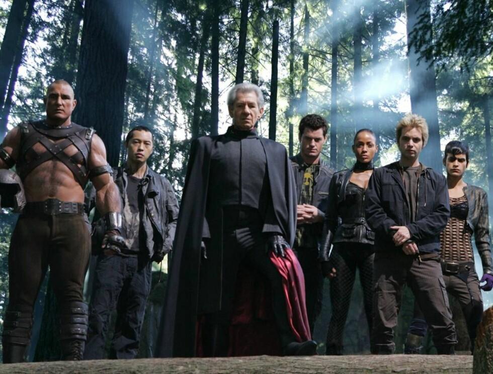 SJEF: Ians rollefigur Magneto leder mutant-gjengen. Foto: Filmweb.no