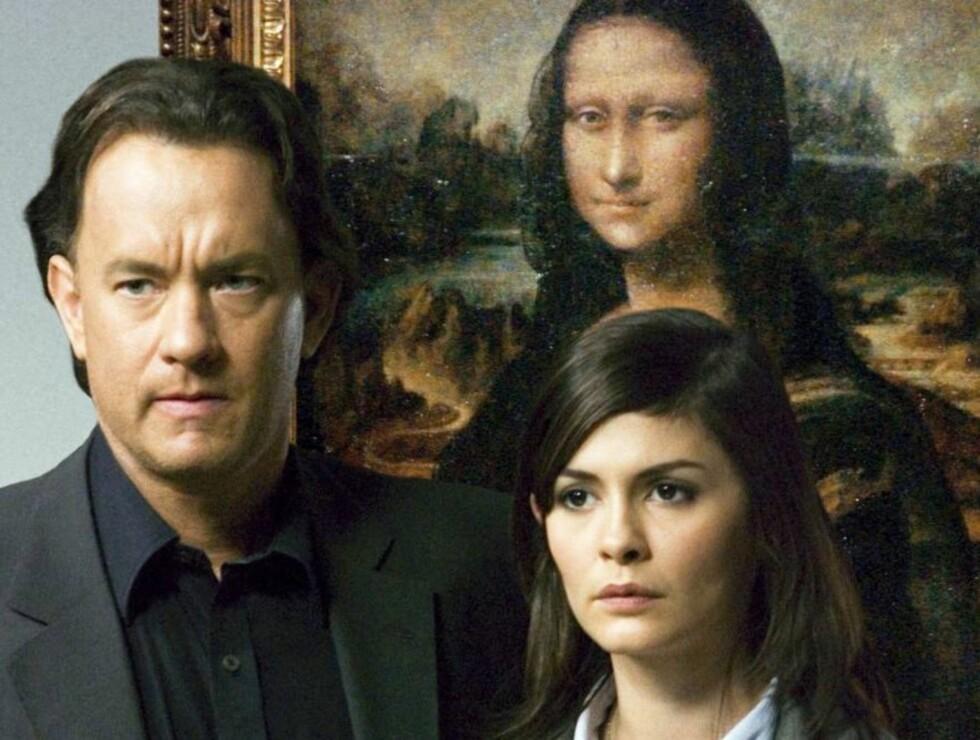 <strong>PÅ KINO:</strong> Tom Hanks og Audrey Tautou spiller hovedrollene i den kinoaktuelle filmen «Da Vinci -koden».
