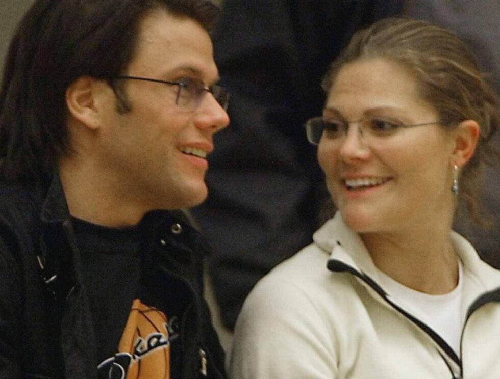 FORELSKET: Daniel og Victoria har vært sammen i mange år, men er fortsatt som nyforelskede. Foto: AP/SCANPIX