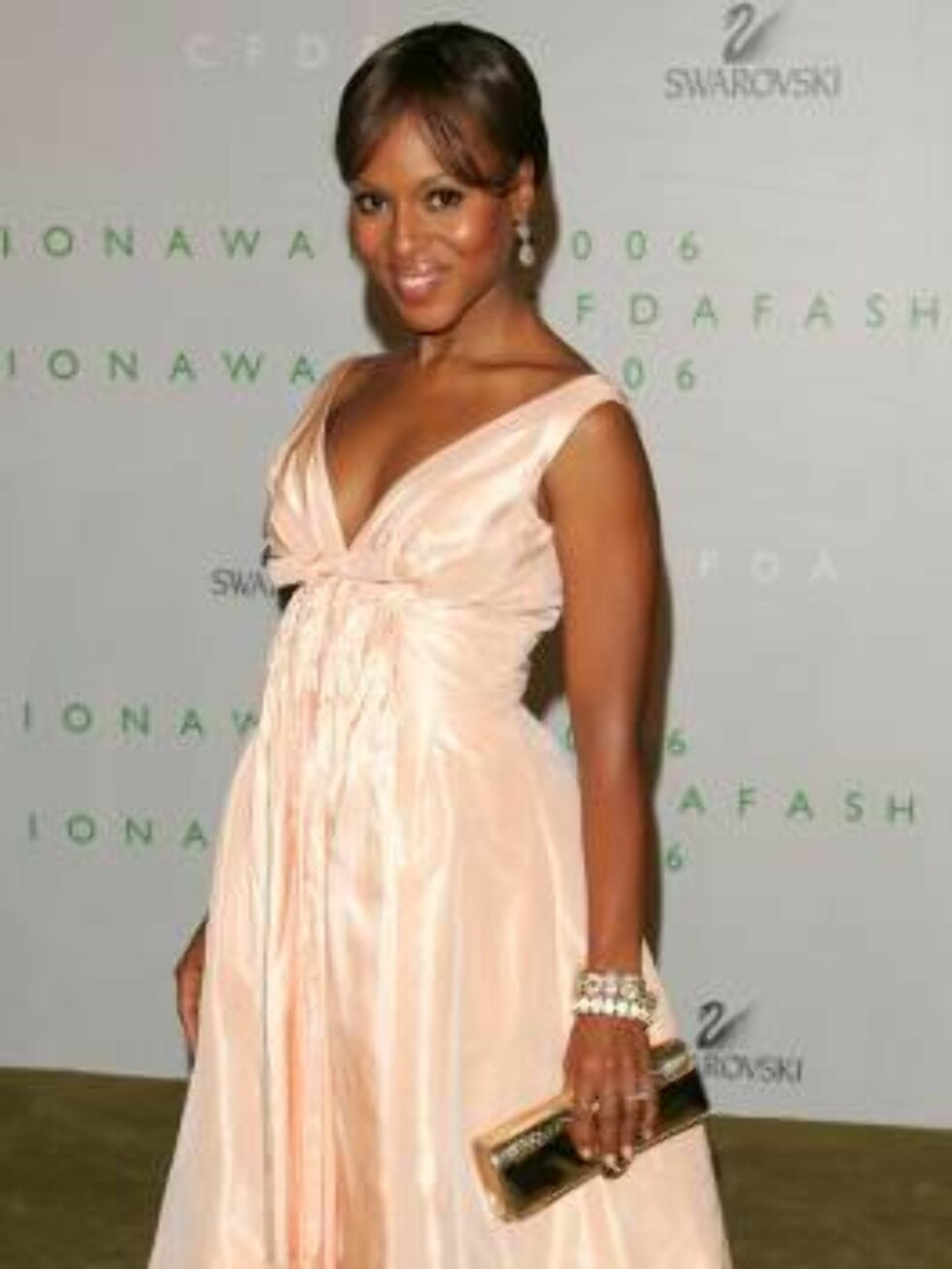 NEW YORK - JUNE 5:  Actress Kerry Washington attends the 2006 CFDA Awards at the New York Public Library on June 5, 2006 in New York City.  (Photo by Peter Kramer/Getty Images) *** Local Caption *** Name  * SPECIAL INSTRUCTIONS:  * *OBJECT NAME: 71124720K Foto: All Over Press