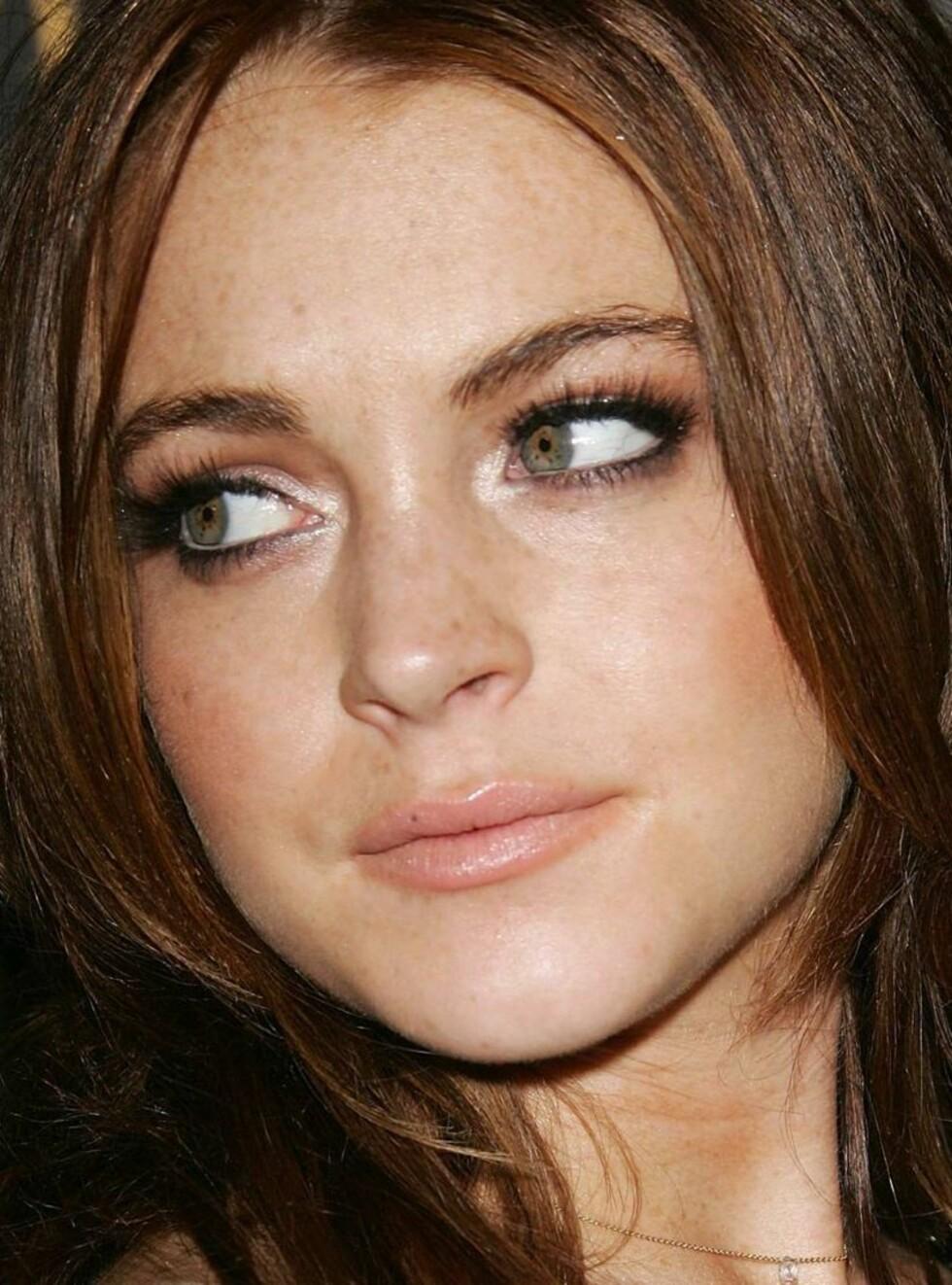 SNART VOKSEN: Lindsay måtte hente fram dystre følelser i sin nye film. Foto: All Over Press
