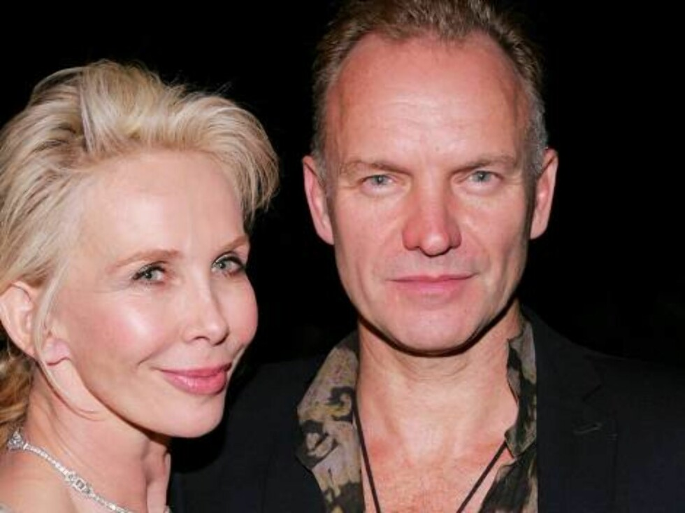 NEW YORK - MAY 19:  Recording artist Sting and wife Trudie Styler attend the The Rainforest Foundation Benefit Dinner & Gala at The Pierre Hotel on May 19, 2006 in  New York City.  (Photo by Paul Hawthorne/Getty Images) *** Local Caption *** Sting;Trudie Foto: All Over Press