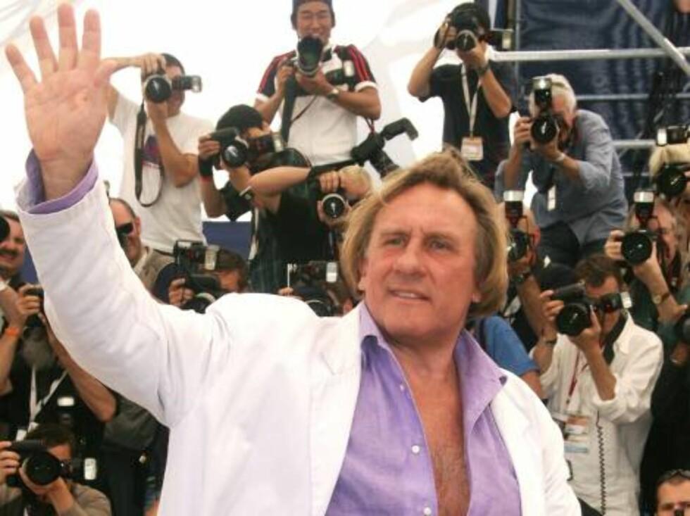 <strong>OSCAR-NOMINERT:</strong> Guillaume var sønn av Gérard Depardieau, som har gjort stor suksess i filmverdenen. Foto: All Over Press
