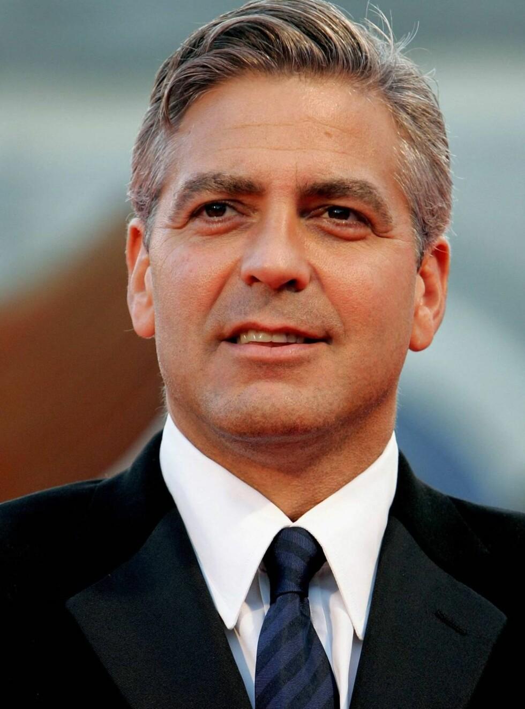 """SIGNOR CLOONEY: George elsker Italia, og nå skal han lære mer enn """"buon giorno""""... Foto: All Over Press"""
