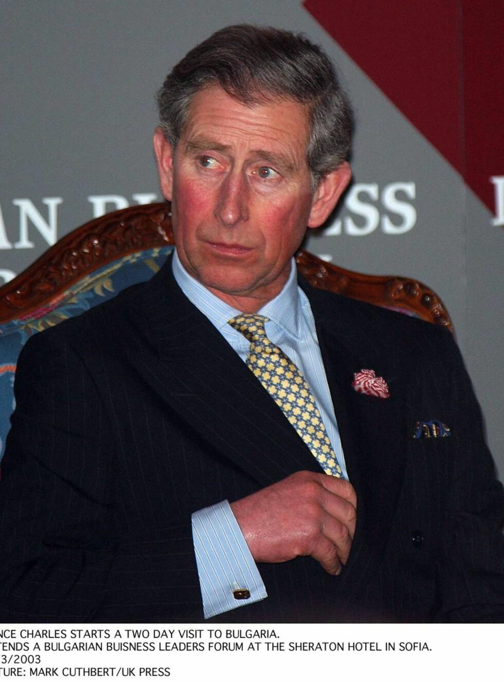 SINT: Charles går rettens vei for å stoppe sine egene dagbøker. Han vurderer også å kreve erstatning. Foto: All Over Press