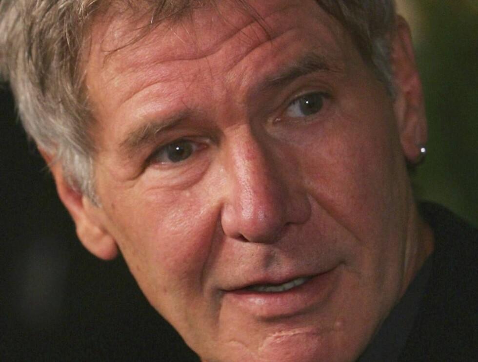 MISTET GLANSEN: Det er nok en stund siden glansdagene til Harrison Ford. I dag er han bare overbetalt. Foto: All Over Press