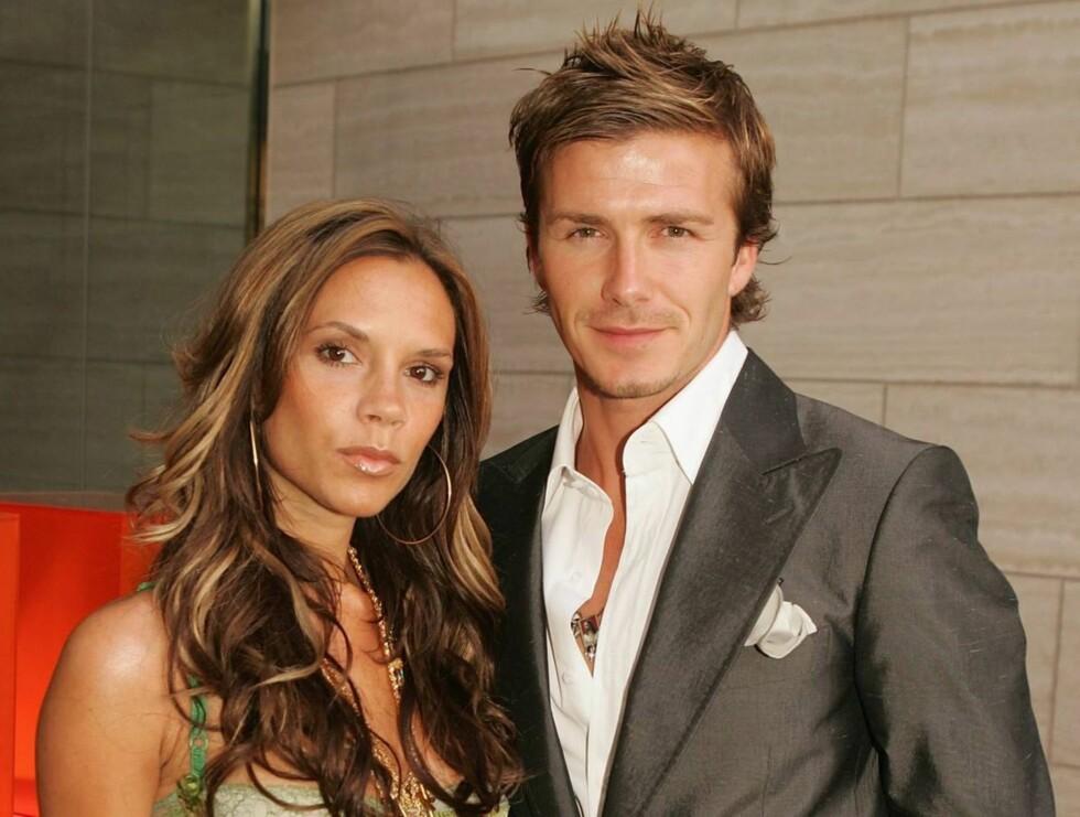 DYRT GILDE: Victoria og David Beckham brukte over seks millioner kroner på festen. Foto: All Over Press