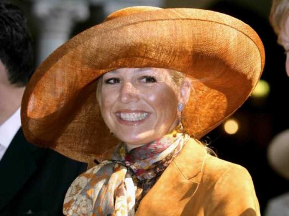Crown Princess Maxima of Holland attends King Carl Gustaf of Sweden's 60th Birthday Celebrations. The Parliaments Lunch at City Hall, Stockholm. Picture: UK Press Foto: All Over Press