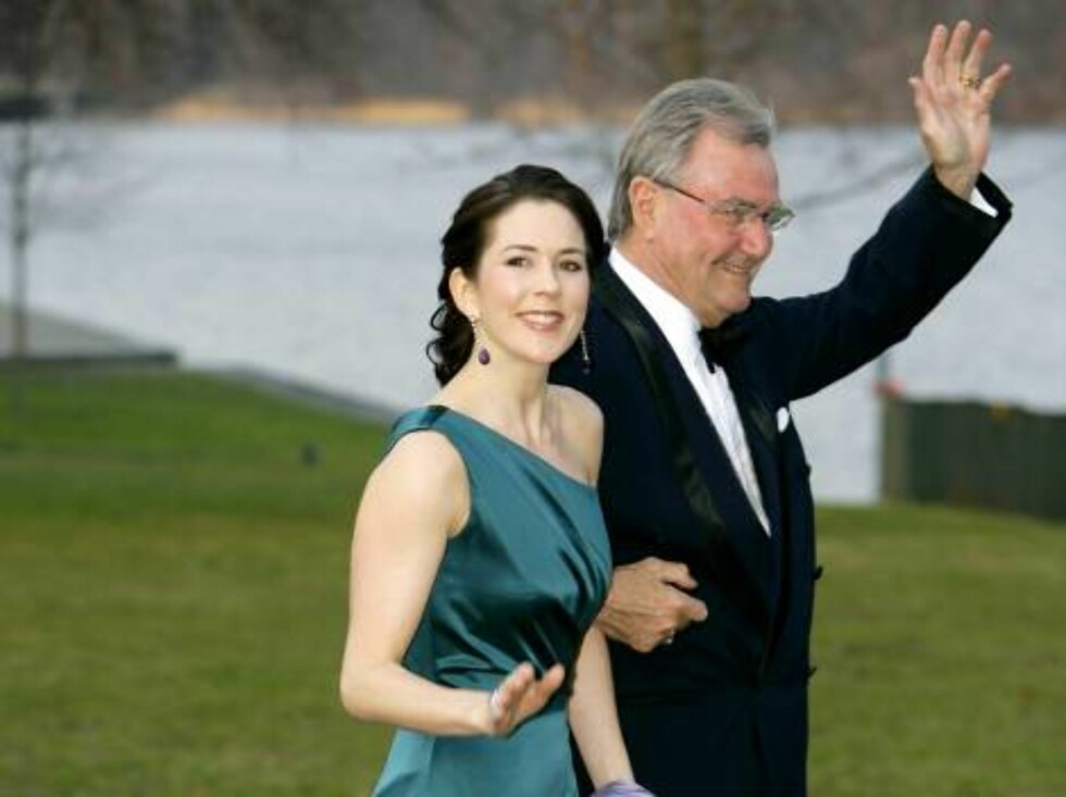 King Carl Gustaf of Sweden's 60th Birthday Celebrations. Prince Henrik & Crown Princess Mary of Denmark attend a Gala Dinner at Drottningholm Palace. Picture: UK Press Foto: All Over Press