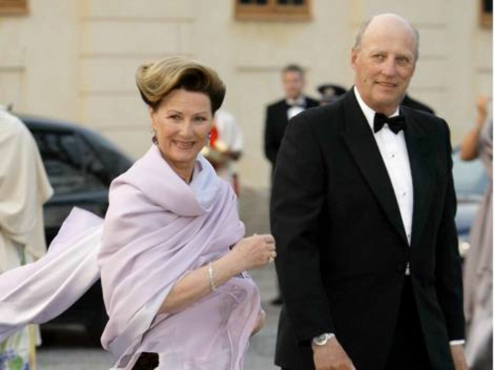 King Carl Gustaf of Sweden's 60th Birthday Celebrations. King Harald & Queen Sonja of Norway attend a Gala Dinner at Drottningholm Palace. Picture; UK Press Foto: All Over Press