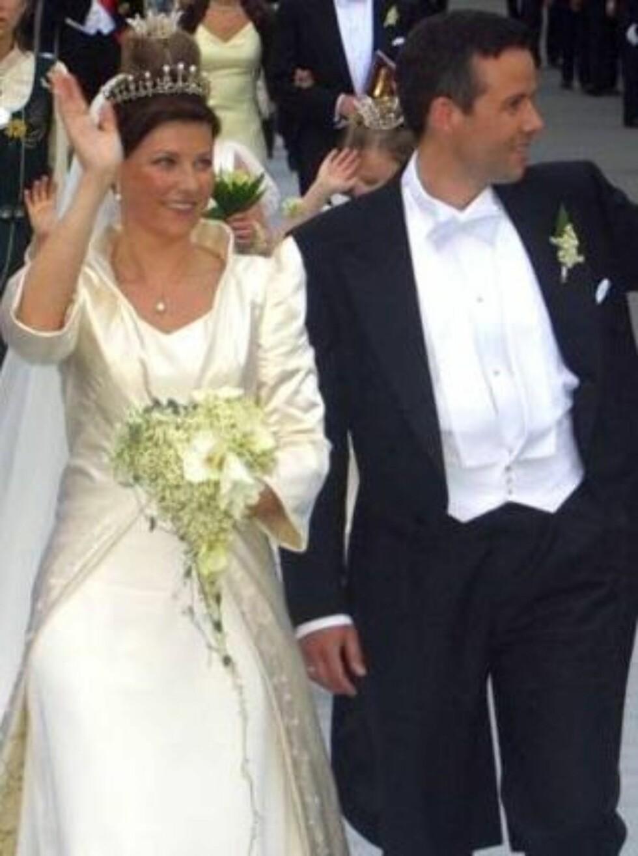 Fortsatt gift: Märtha og Ari giftet seg i 2002. Foto: Anders Stavseng