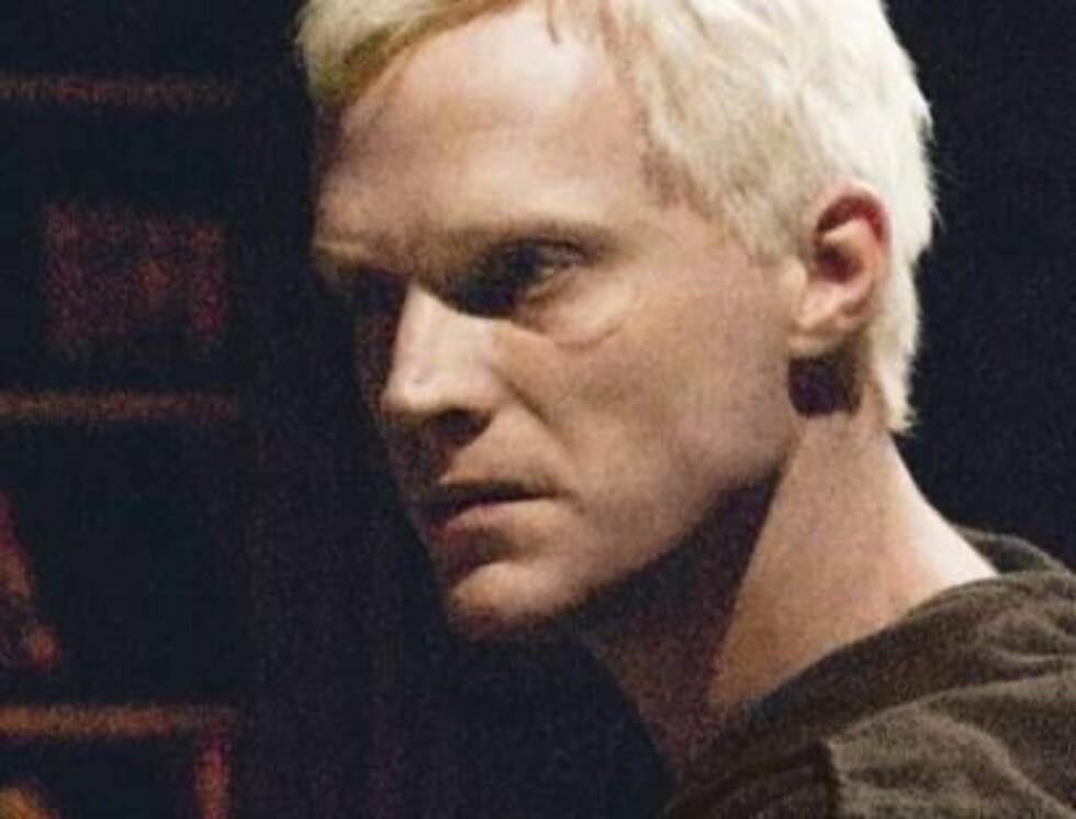 ALBINOMUNK: I rollen som Silas i Da Vinci-koden er Bettany blitt en av Hollywoods heteste navn.