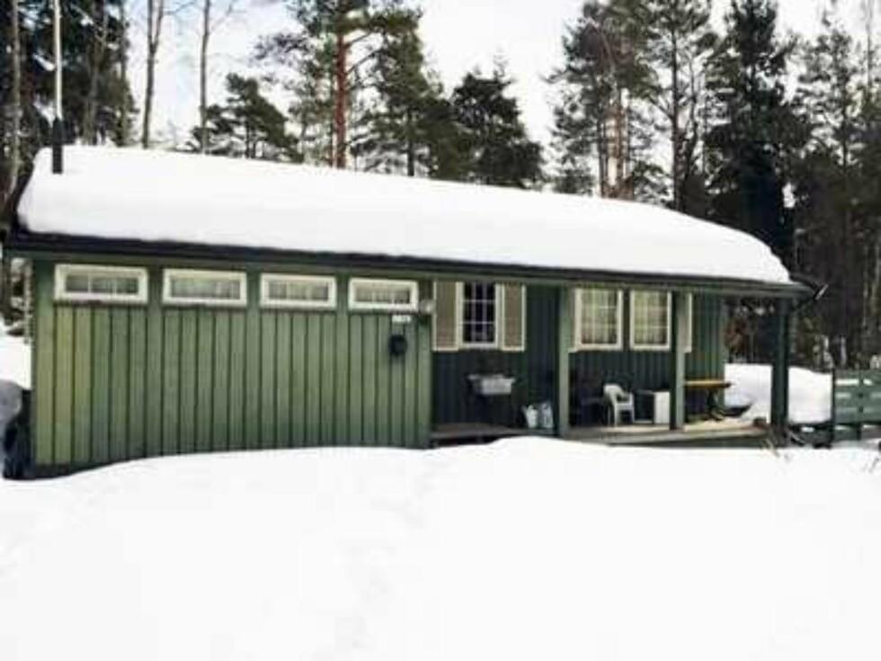 Hytta til Helen Oddveig Bjørnøy Foto: Birte Ulveseth