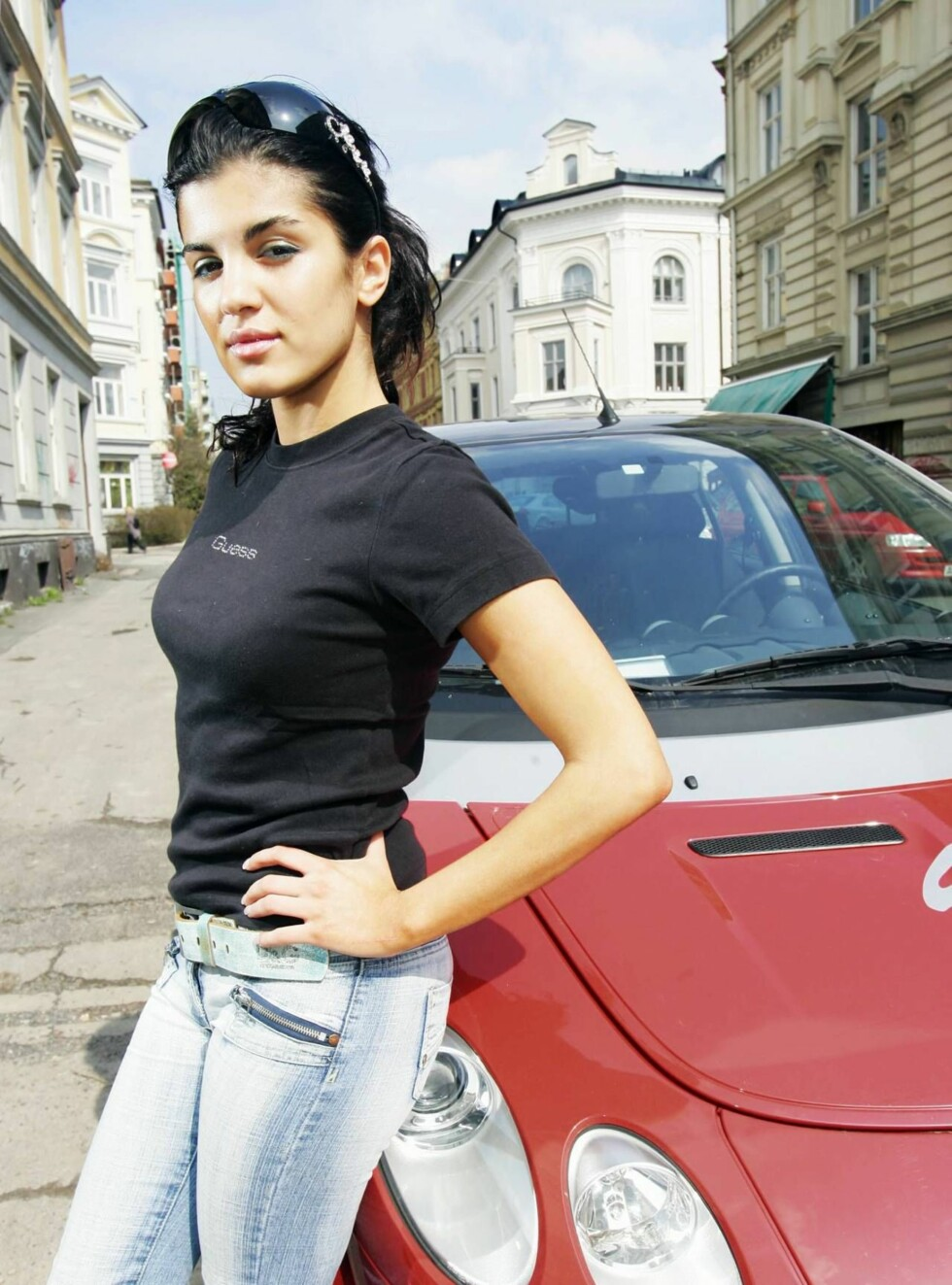 ANGRER: Aylar angrer dypt på at hun satte seg bak rattet med promille. Nå kan hun havne bak lås og slå. Foto: Se og Hør, Espen Solli