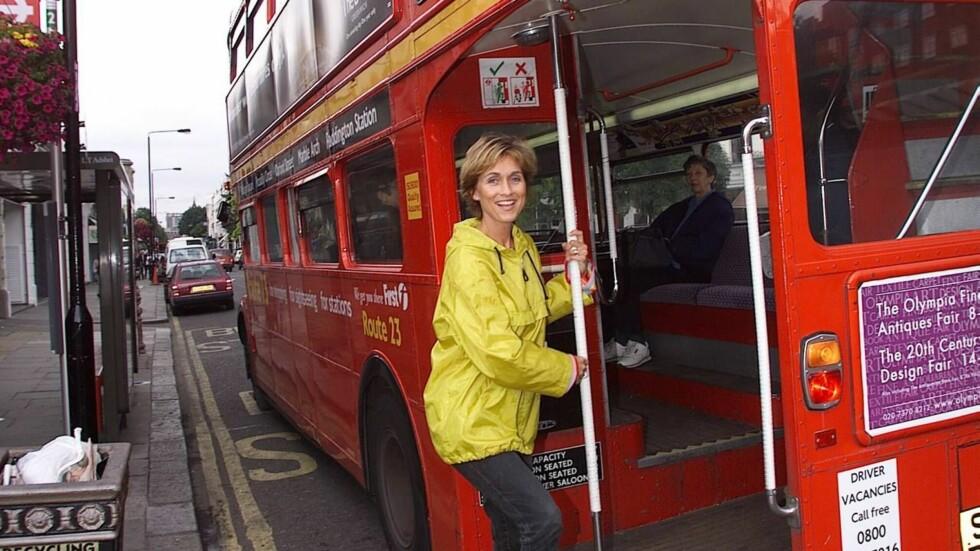 TA BUSSEN: Gjør som Hilde Hummelvoll (45) og bruk buss eller T-bane i London, i stedet for taxi som er veldig dyrt.  Foto: Se og Hør