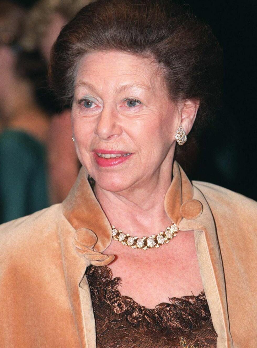 DIAMONDS ARE FOREVER: Prinsesse Margarets private smykkesamling kan bli din. Foto: All Over Press