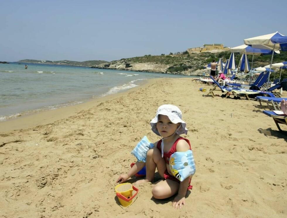 HOLDER STAND: Kreta er fortsatt nordmenns førstevalg når sommerferien skal planlegges. Den greske feriefavortitten begynner nå for alvor å fylles opp. Men er du kjapp har du fortsatt mulighet. Foto: Thomas Lillehagen Røyert
