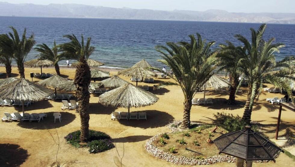 NYHET: Med Apollo kan du dra direkte til den jordanske Akabukta ved Rødehavet. Foto: Apollo