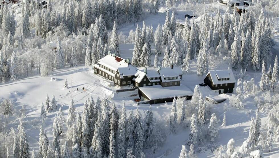 GEDIGENT: Huset til Stein Erik Hagen er blant de største i Norge #2013 og ligger vakkert til med fantastisk utsikt over hovedstaden og Oslofjorden. Foto: Jan-Petter Dahl