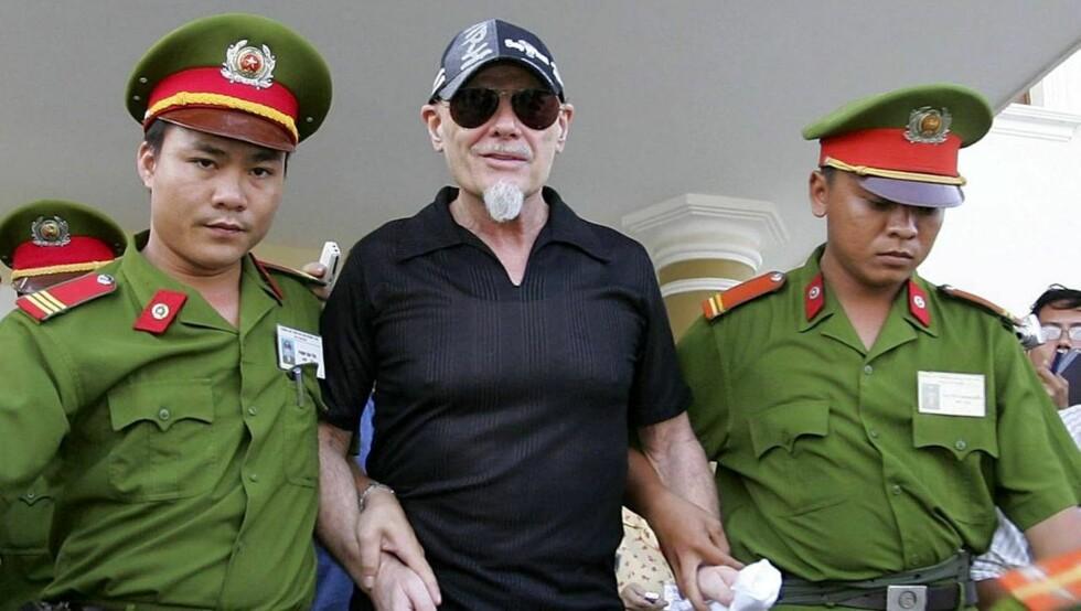 FENGSLET: Glitter ble dømt til tre års fengsel for sex med to 11 år gamle småjenter i Vietnam. Foto: All Over