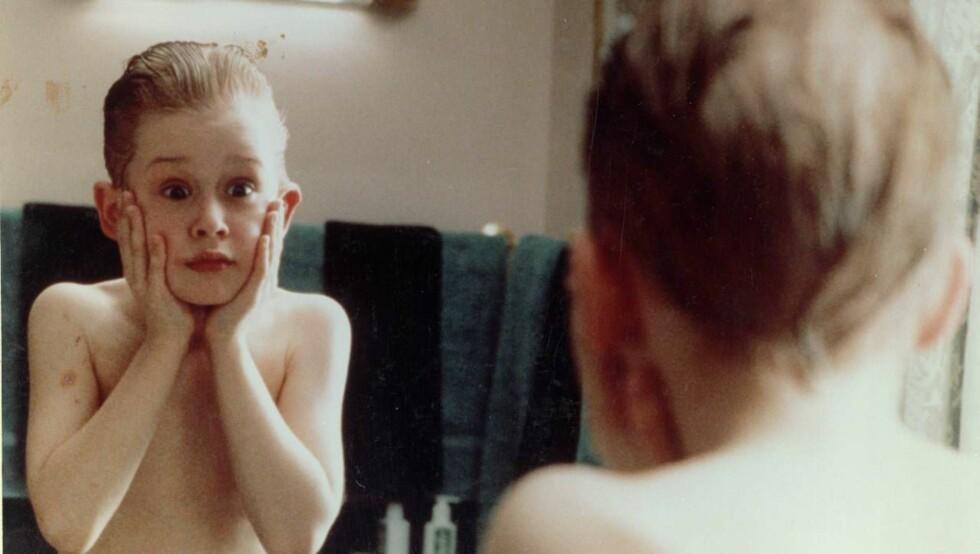 SLIK VI HUSKER HAM: Som søt barnestjerne i Hjemme Alene-filmene. Foto: All Over Press