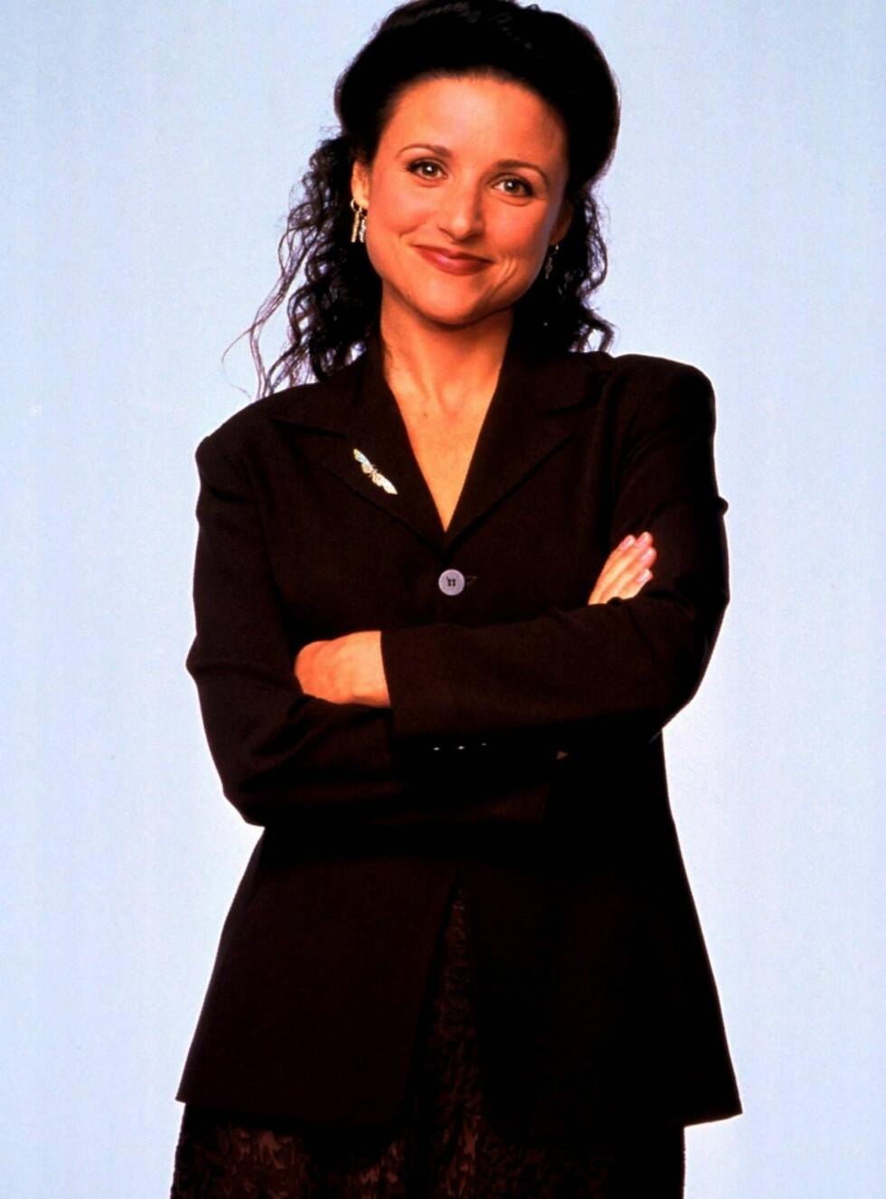 NY ROLLE: Som Elaine var barn hennes store skrekk. Nå har Julia barn både privat og i sin nye TV-serie. Foto: TV2