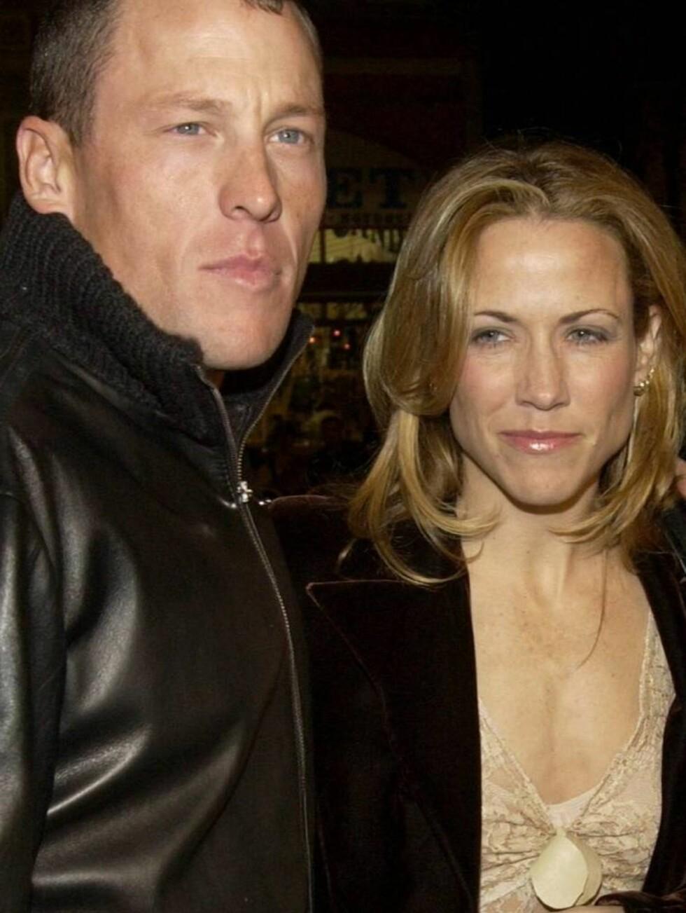 BRUDD: Syklisten Lance Armstrong og Sheryl avlyste bryllupet, og gikk hvert til sitt i februar. Foto: All Over Press