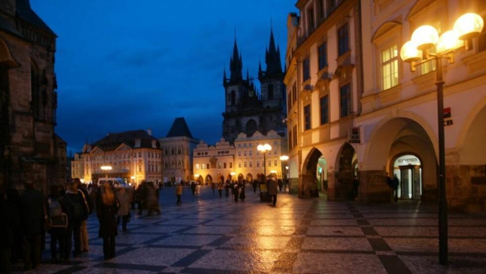 Praha by night: Det er et uttall vannhull i Praha som er et skikkelig eldorado for ølhunder. Foto: Odd Helge Brugrand