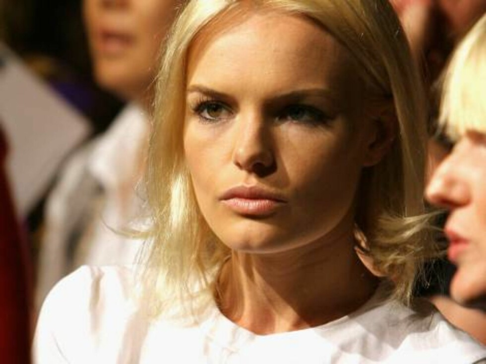 NEW YORK - SEPTEMBER 10:  Actress Kate Bosworth attends the Luella Bartley Spring 2007 fashion show at Sony Music Studios during Olympus Fashion Week September 10, 2006 in New York City.  (Photo by Scott Wintrow/Getty Images) *** Local Caption *** Kate Bo Foto: All Over Press
